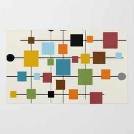 Mid-Century Modern Art 1.3 Rug