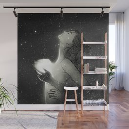 You bring the light to my darkness. Wall Mural