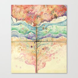Where everything is music Canvas Print