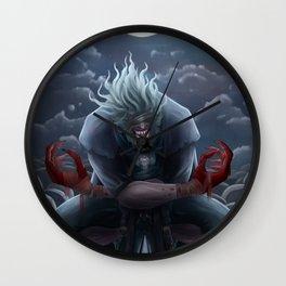 Beast's Embrace Wall Clock
