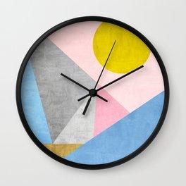 Geometric 2 Wall Clock