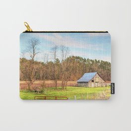 West VA Quilt Barn Trail Carry-All Pouch