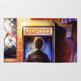 Ready Player One Rug