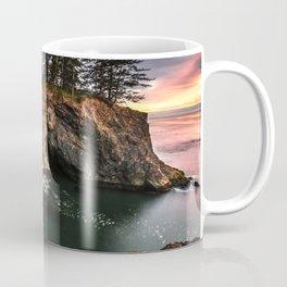 Natural Bridges Brookings Oregon Coffee Mug