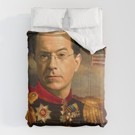 Stephen Colbert 19th Century Classical Painting Comforters