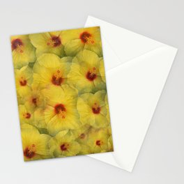 Yellow Hibiscus Stationery Cards