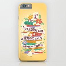 Reading list iPhone 6s Slim Case