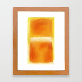 Mark Rothko Interpretation Framed Art Print