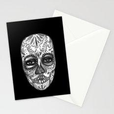 Floating Sugar Skull Stationery Cards