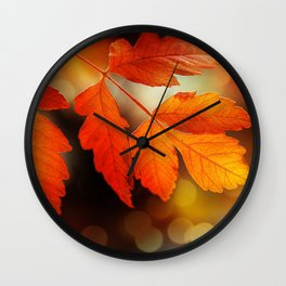 Perfect Autumn Wall Clock
