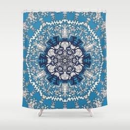 Trance Dream - Maya (Double Blue Edition) Shower Curtain