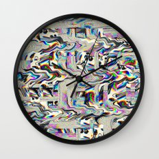 We Live Wall Clock
