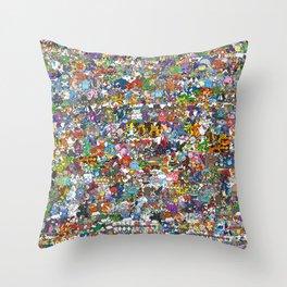 pokeman Throw Pillow