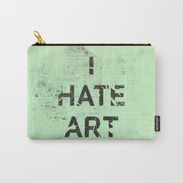 I HATE ART / PAINT Carry-All Pouch