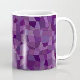 Purple mosaic rectangles Coffee Mug