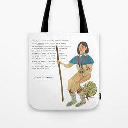 Sacajawea Tote Bag