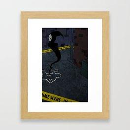 Haunt Framed Art Print