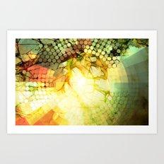 ABSTRACT3 Art Print