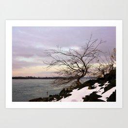 Осень Art Print