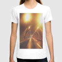 subway T-shirts featuring SUBWAY by Yigit C.