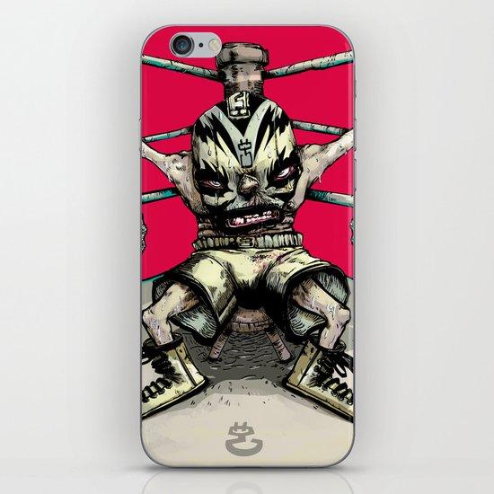 El Rudo Hurricane Miguel iPhone & iPod Skin
