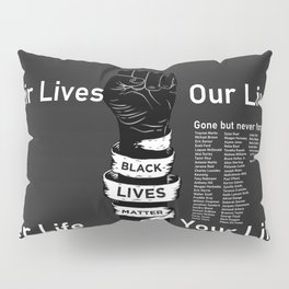 BLM Our Fist into the World Pillow Sham