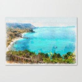 South breeze Canvas Print