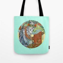 Masked Lynx Tote Bag