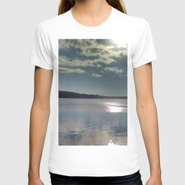 Winter on the Thames River, CT T-shirt