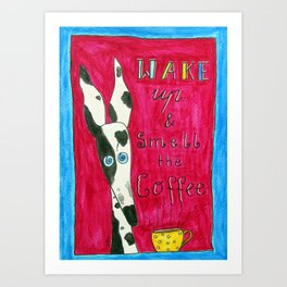 Morning Hound Art Print