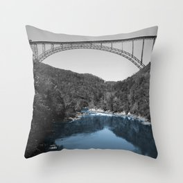 New River Teal? Throw Pillow
