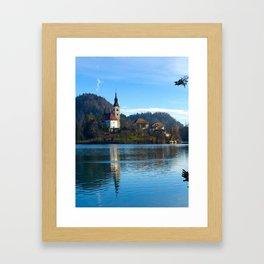 Bled Island Photography Framed Art Print