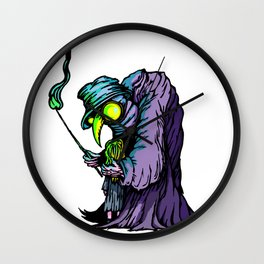 He Will See You Now Wall Clock
