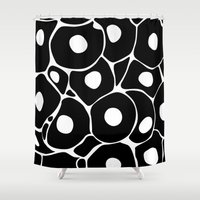 spawn Shower Curtains featuring A new start in lives 4 by S.Y.Hong