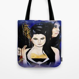 Evanescence Amy Lee Harp Painting  Tote Bag