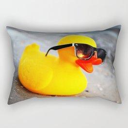 Beach Duck Rectangular Pillow
