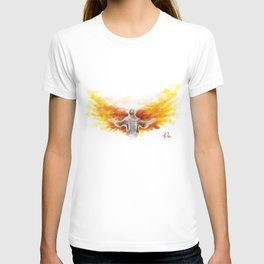 On Wings Like Eagles (Isaiah 40:31) T-shirt