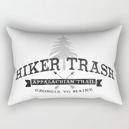 AT Hiker Trash - NoBo Rectangular Pillow