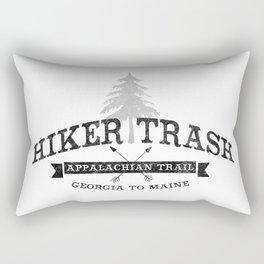 AT Hiker Trash - NoBo Rectangular Pillow