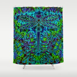 Dreamt I was a Dragonfly...Again Shower Curtain