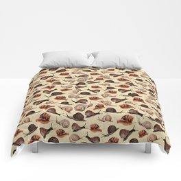 A Slew Of Snails Comforters