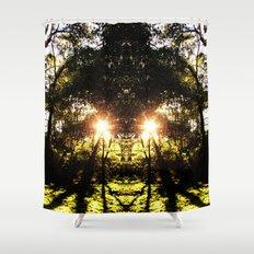 DMT Ferntree Forest Shower Curtain