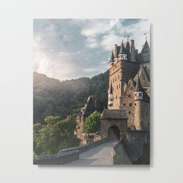 Sunrise At Castle Eltz, Germany Metal Print