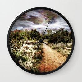 Down the Beaten Path Wall Clock