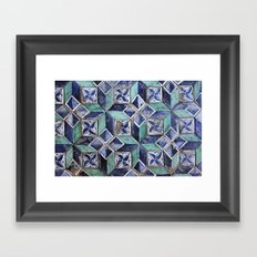 Tiling with pattern 3 Framed Art Print