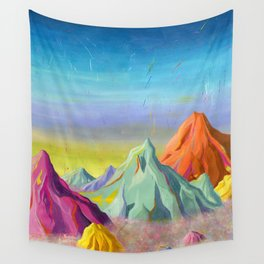 mountains  Wall Tapestry