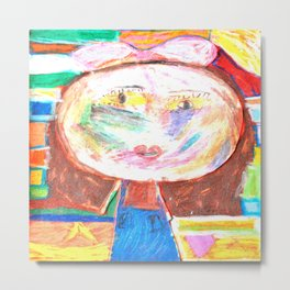 Mrs. GRUMBLiNG Metal Print