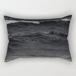 Deepest Tempest Rectangular Pillow