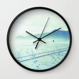 Piha Beach Wall Clock