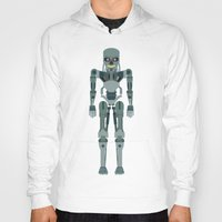 vector Hoodies featuring Terminator Vector by TIERRAdesigner